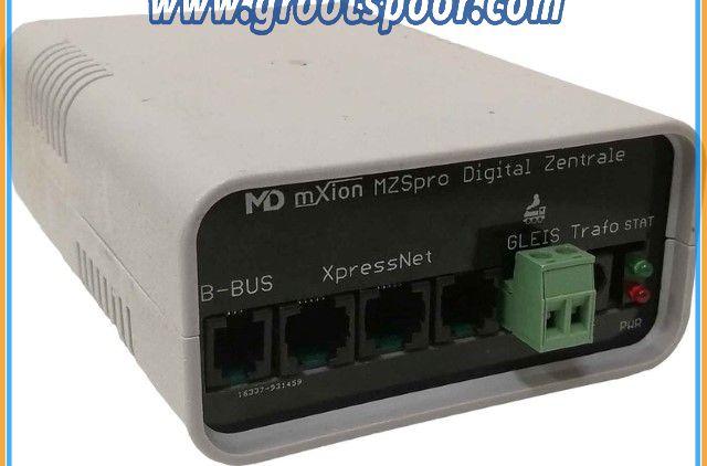 MD 6002 MZSpro (8A Digitalzentrale, Z21 WLAN/Funk Option, 14 - 128 Fahrstufen, F0-F28, 10239 Loks, 2048 Weichen, XpressNet)