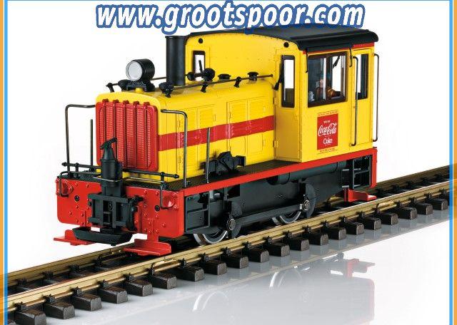 LGB 27631 Coca-Cola® Diesellokomotive