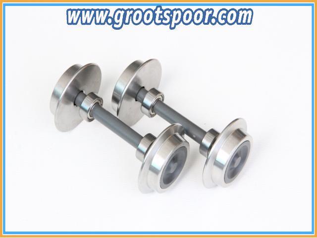Boerman 0005-0201-9011 2 stk Kugellager Achse 20mm Grau (45mm Spurweite)