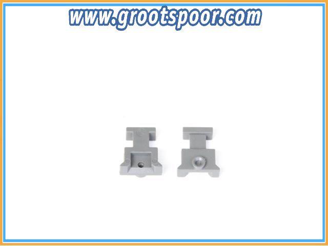 Boerman 0005-0201-9012 2 stk Trichter Halbschale Grau