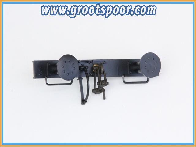 Boerman 0006-0001-9011 1 stk Pufferbohle Komplet mit Schraubenkupplung
