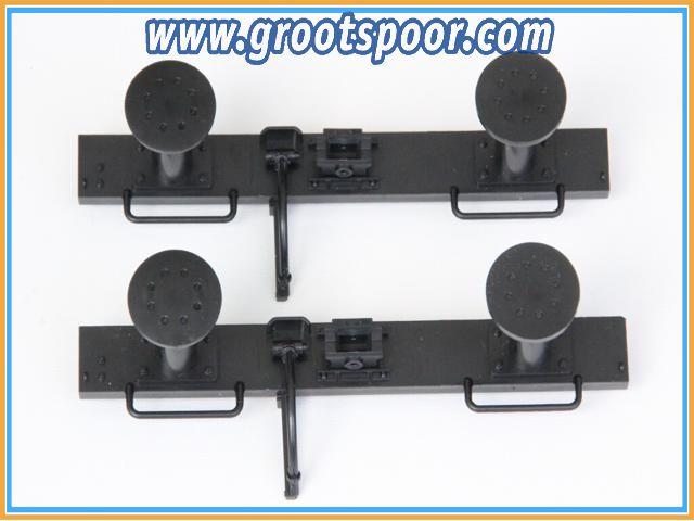 Boerman 0006-0001-9012 2 stk Pufferbohle Komplet mit Trichterkupplung