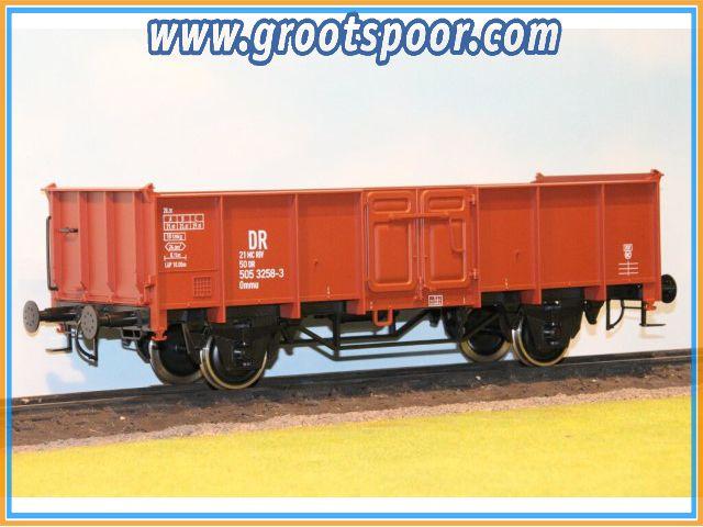 Boerman 0006-0007 Goederenwagon DR 21 50 505 3258-3 Ommu 40.0