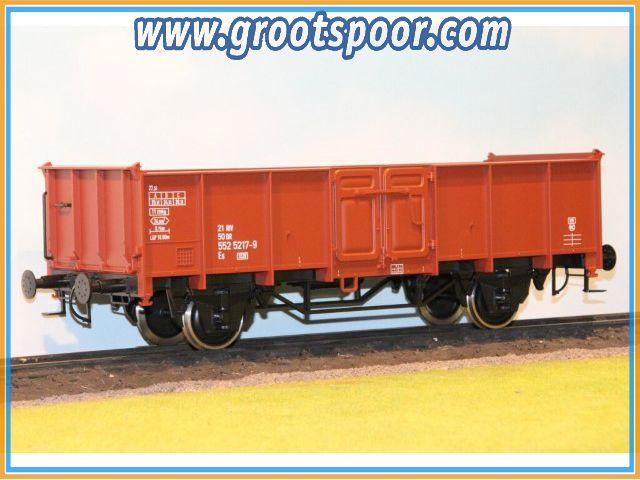 Boerman 0006-0008 Goederenwagon DR 21 50 552 5217-9 Es 5520
