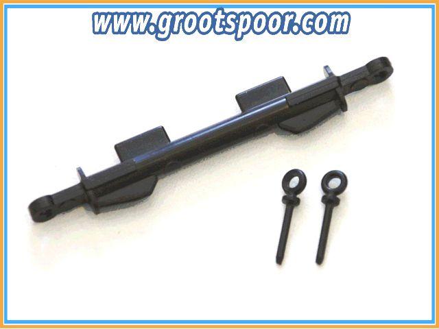 Boerman 0006-0101 Koppelstang kort voor 64mmOW en HSB Rollbockset