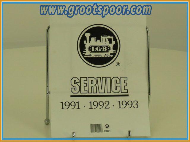 LGB 00291 Service bladen 1991-1992-1993