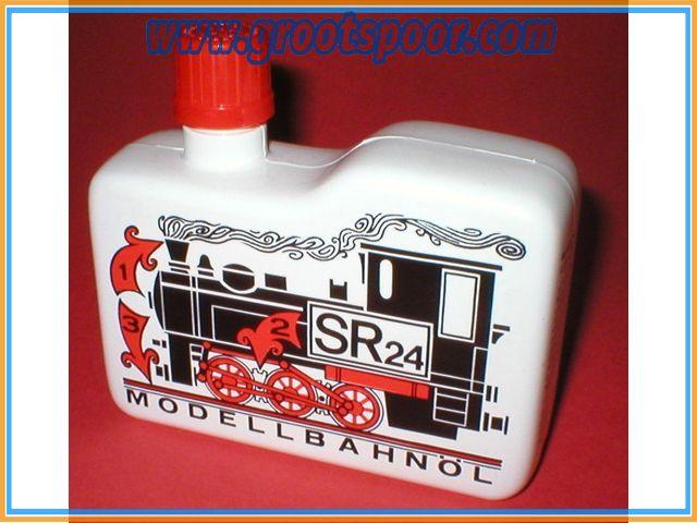 SR-24 Dampföl / Rookvloeistof  0,25 liter