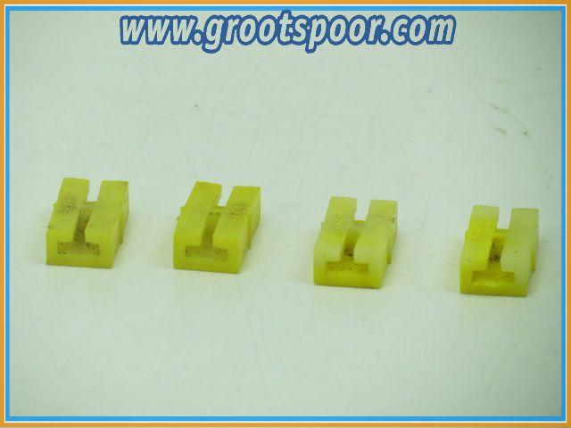 LGB 10260 Isolierschienenverb.,4 St. Buiten Gebruikt