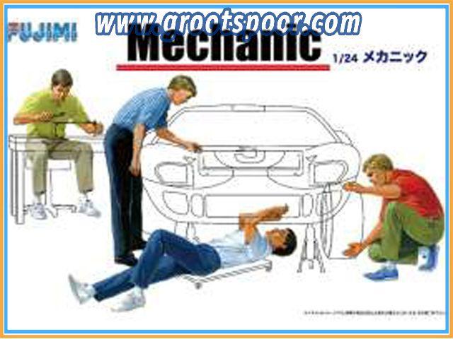 GSDCCfuj 000114903 Mechanic Figures Set, plastic modelkit.
