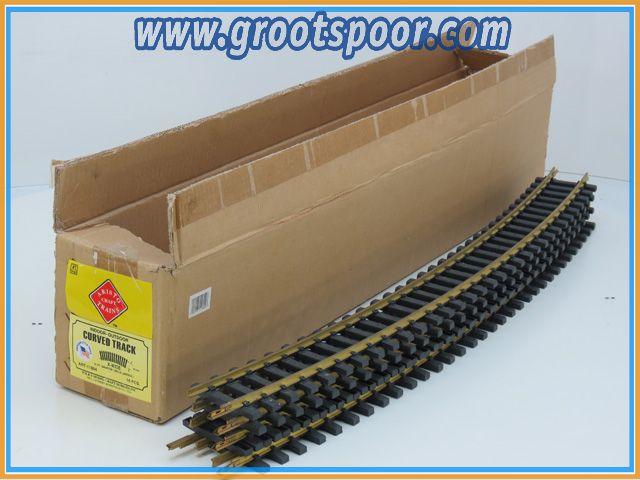 Aristo Craft Trains 11804 Curved Track railset van 5st
