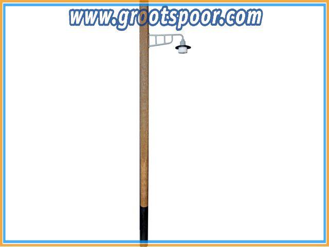 BELIBECO 160571 Holzmastleuchte 230mm