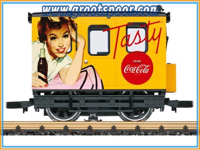 LGB 20064 Coca-Cola® Crew Car
