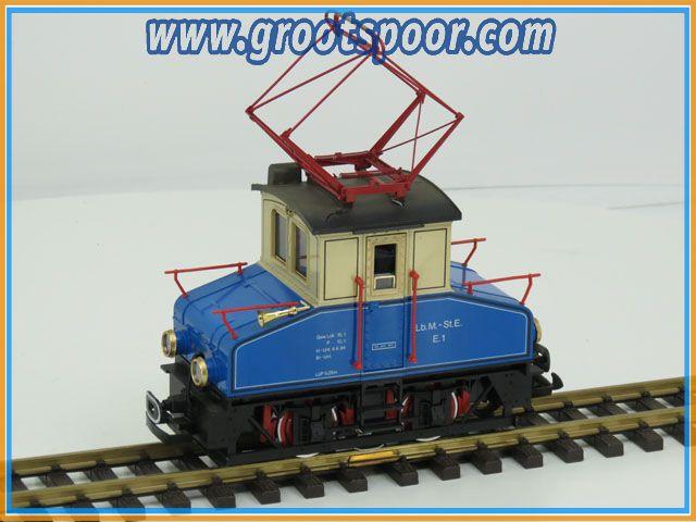LGB 2030 E Lokomotive E1 der landesbahn Mixnitz- St.Erhard Digitaal