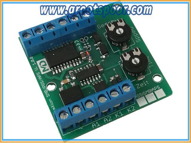 MD 3013 APS (Analoge Pendelzugsteuerung mit Softstart langsames An- und Abbremsen