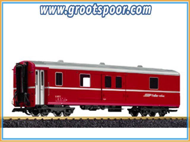 LGB 32690 RhB-Gepäckwagen D 4217 Metallrader