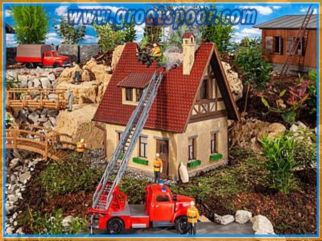 Pola 331090 Brennendes Haus