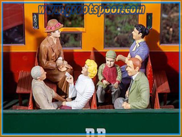 Pola 331502 6 sitzende Waggon-Reisende