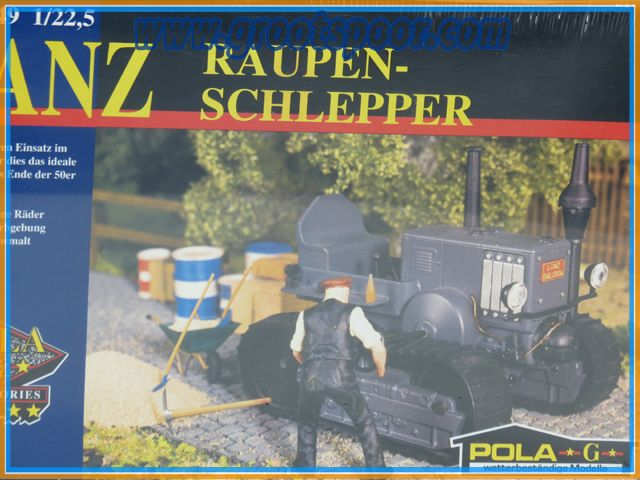 POLA 331849 Lanz Raupen Schlepper.