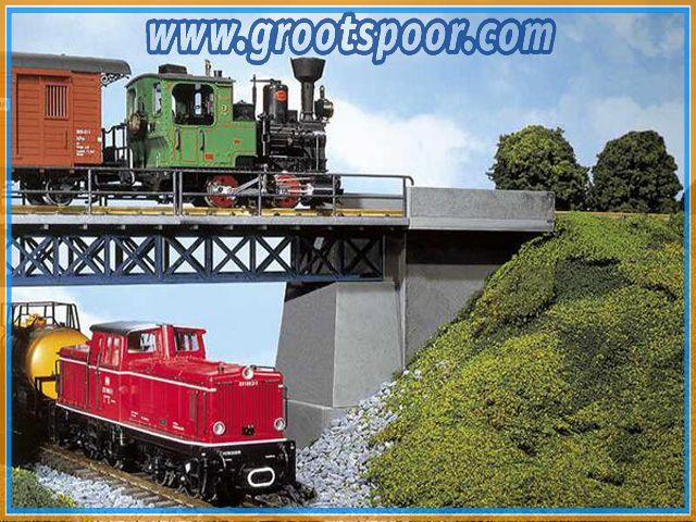POLA 331885 Beton-Brücken-Kopfgarnitur