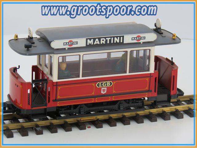 LGB 3600 B Tram aanhangwagen