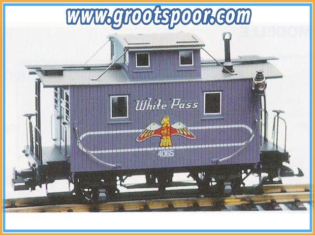 LGB 4065 - W 03 White Pass Caboose
