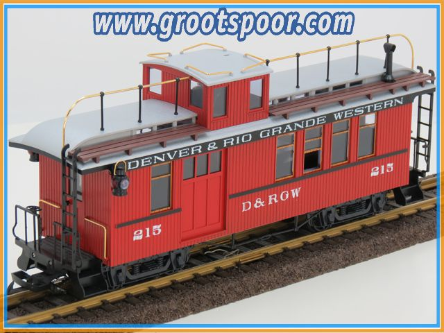 LGB 4075 D&RGW 215 caboose