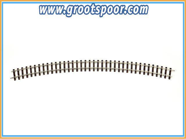 THIEL 430 Fertig-Gleise gebogen. R 230cm Nickel