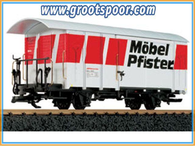 LGB 45810 RhB-Güterwagen Gbk-v 5613, eXtra-Premium,Metallrader