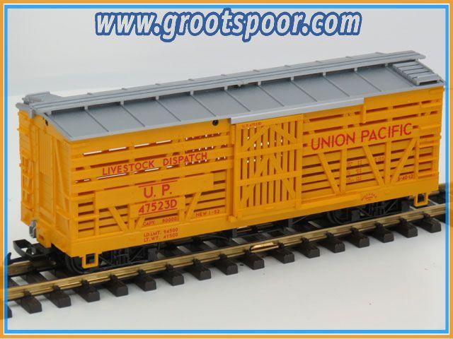 LGB 48681-01  Viehwagen UP Union Pacific 47523D