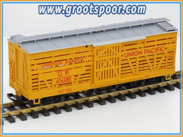 LGB 48681-03  Viehwagen UP Union Pacific 47428D