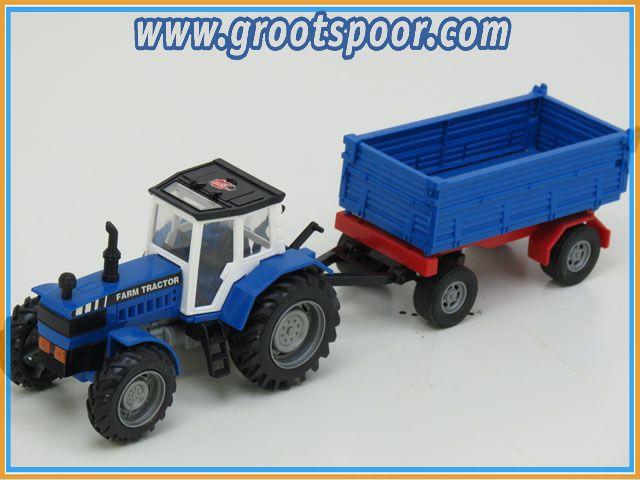 Dickie Farm Tracktor met aanhanger