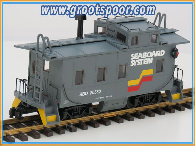 Aristo Craft 42178 Steel/Long Caboose Seaboard System