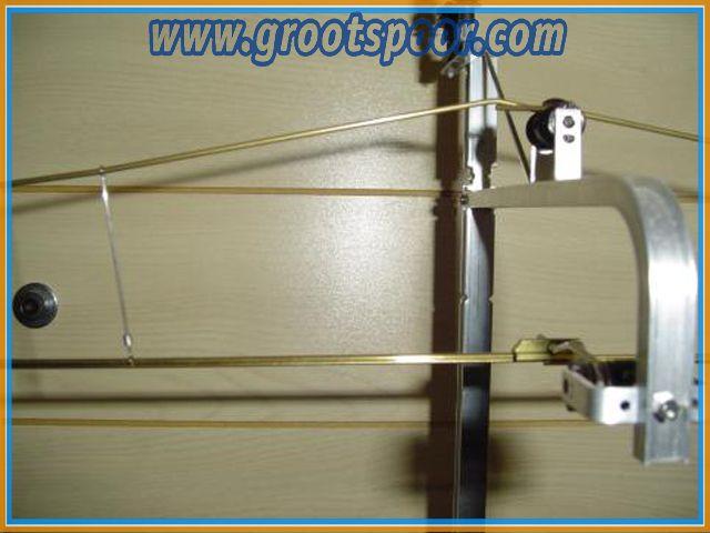 AZB 6190 Fahrdrahtbausatz mit Tragseil, 90cm lang, 12 teilig