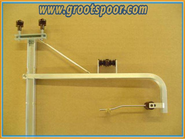 AZB 6200 ORhB Oberleitungsmast, geboge Ausfuhrung, speziell für Kurven
