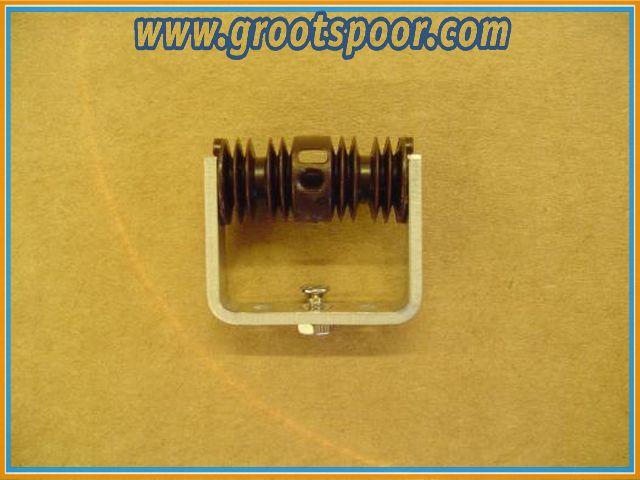 AZB 6409 Fahrleitungsisolator komplett