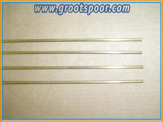 AZB 6504/90 Fahrdraht, 12 Stück, 90cm lang