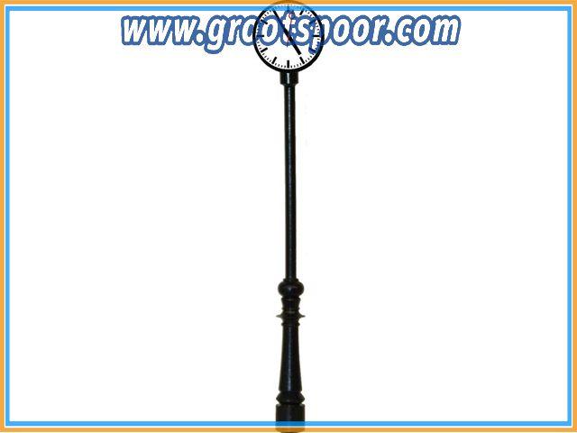BELIBECO 122001 Klok op mast, 115 mm hoog