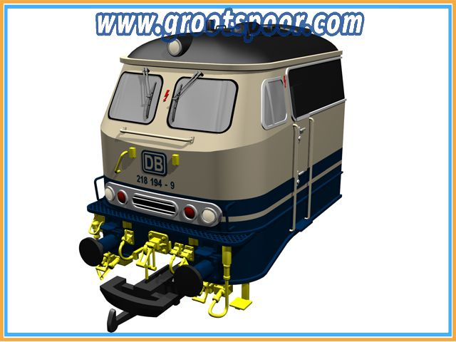 MASSOTH 8500301 Zurüstteile für PIKO 3750x BR 218 Set I