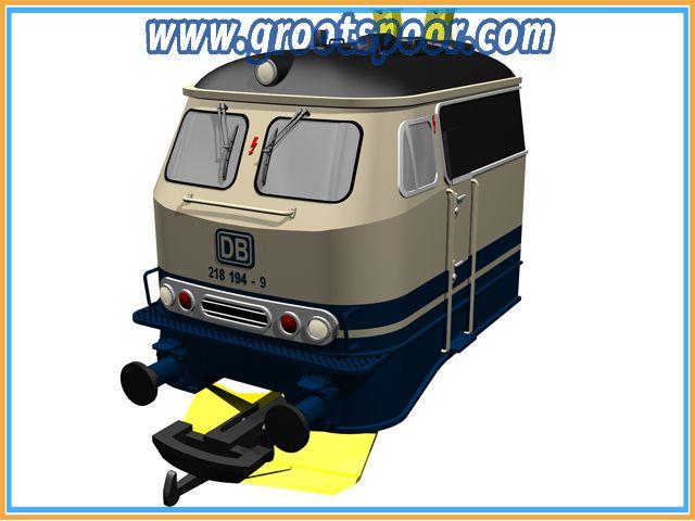 MASSOTH 8500302 Zurüstteile für PIKO 3750x BR 218 Set II (Hutzen, Räumer)