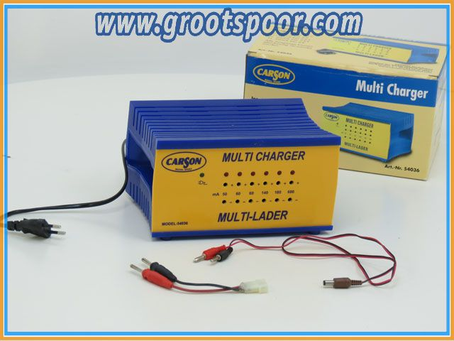 Carson 54036 Multi Charger