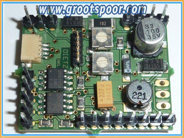 DIETZ D-DEKDX Steuerlektronik für Dietz-Entkupplermechanik (alle Ausführungen)
