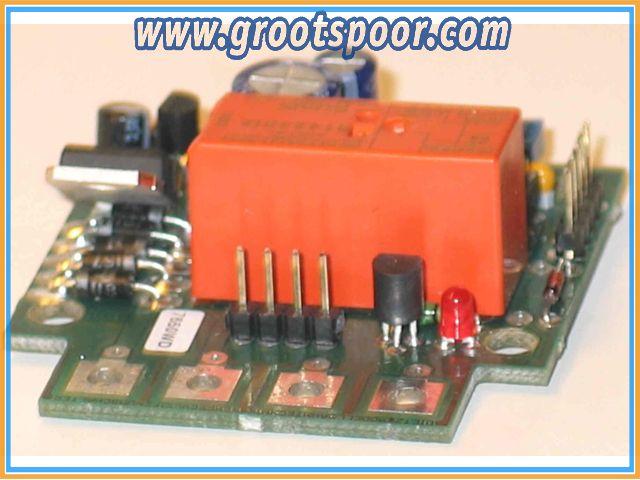 DIETZ D-DKSUNI Kehrschleifenelektronik für Digitalbetrieb bis 15/20 Ampere Fahrstrom