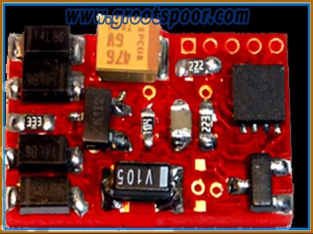 DIETZ DSE F1-10 DCC Funktionsdecoder - 10er Packung
