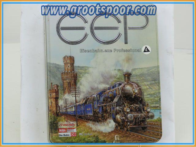 MIBA PC cd-rom Eisenbahn.exe Professional