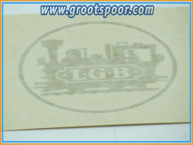 LGB Sticker, Aufkleber 7.5 cm Goud, Gold