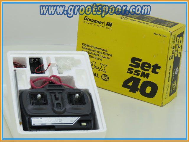 Graupner JR 3145 Remote cotrol 40MHZ