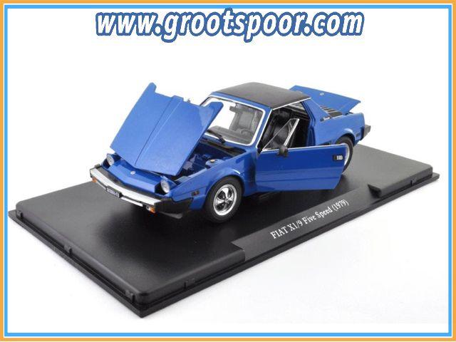 GSBROatl00023 Fiat X1/9 Five Speed 1979 Blauw