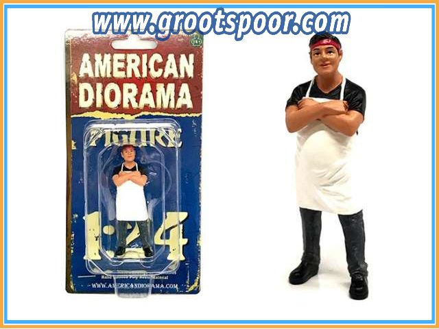 GSDCCad 00038441 1/24 Food Truck Chef *Victor*