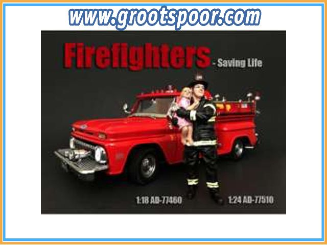 GSDCCad 00077510 1/24 Fire Fighter *Saving Life*