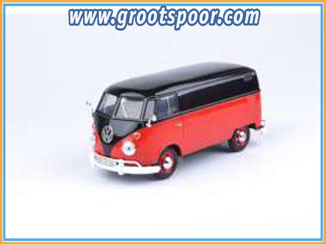 GSDCCmax00079342bkr Volkswagen Type 2 (T1), black/red 2-tone